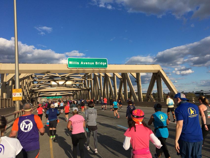 Willis avenue bridge, new york city marathon